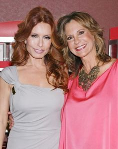 The Young and the Restless Photos: Old Friends on CBS.com -Tracey Bregman aka Lauren Fenmore Baldwin & Jess Walton aka Jill Abbot