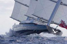 Le Faucon Maltais, prouesse technologique dans le monde de la navigation.