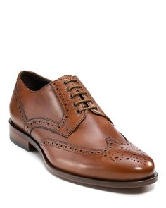 "BOSS Black ""Hankie"" Wing Tip Shoe 