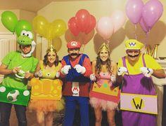 Halloween Costume. Mario Kart Group