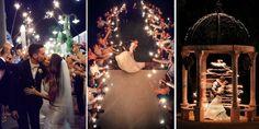 éjszakai esküvői fotók