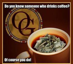 Do You Know Someone Who Drinks Coffee? #Organo Gold MLM Opportunity