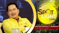 Watch another episode of Pastor Apollo C. Quiboloy's newest program, SPOTLIGHT. For your messages and queries, you can comment it down below so our Beloved P. Kingdom Of Heaven, Heaven On Earth, Spiritual Enlightenment, Spirituality, New Program, T Lights, Son Of God, The Real World, Apollo