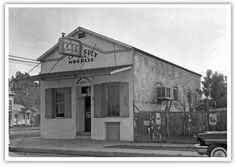 Merced's Chinatown 2-23-1957