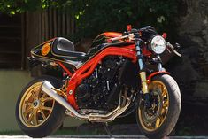 Triumph Speed Triple 955 café racer