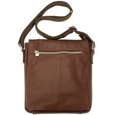 Messenger Camillo GM with genuine leather - Brown Special Price $157.99 Regular Price $190.00 Handbags For Men, Trendy Handbags, Fashion Handbags, Leather Purses, Leather Handbags, Messenger Bag Men, Glasses Case, Italian Leather, Mini Bag
