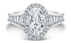 Forevermark Oval Diamond Engagement Ring