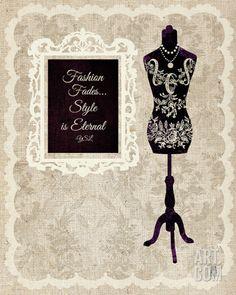 Dress Form II Print at Art.com