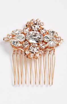 Camilla Christine Small Jeweled Comb available at #Nordstrom