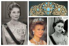 Princess Mary Adelaide of Cambridge | left): Princess Alice, Duchess of Gloucester; tiara detail; Princess ...