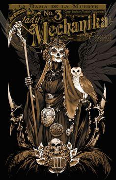 Lady Mechanika: La Dama de la Muerte #3 (Incentive Cover)   Benitez Productions