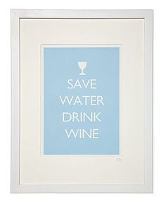 Should put something like this over our wine rack :)