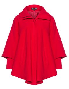 Fleece cape - Shop Jackets at navabi. Jackets for every occasion in sizes 12 to 28