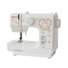 Hello Kitty + Janome Sewing Machine