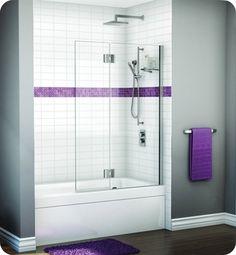 Fleurco Glass Tub Shield Evolution Solo Home
