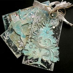 Start making Christmas tags now and they'll be ready for those special packages!