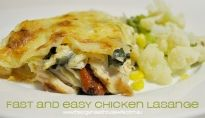 Easy Chicken Lasange : The Organised Housewife : Ideas for organising and Cleaning your home