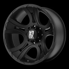 Crank Offset-XD Series Crank one-piece cast aluminum wheel with five spoke design for Trucks and Suv's. This wheel comes complete with lug nuts and center caps. Tire Pressure Monitoring Stems (TPMS) can be purchase with this wheel. Matte Black, Black Silver, Jeep Rims, Truck Wheels, Aluminum Wheels, Trucks, Black, Truck