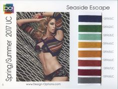 #SS2017 #2017ColourTrends #ColourTrends #2017trends | DESIGN OPTIONS SS 2017 - SEASIDE ESCAPE Color Trends, Design Trends, 2017 Design, Daily Dress, Ss 2017, Spring Summer, Clothes For Women, Vibrant, Fashion Trends