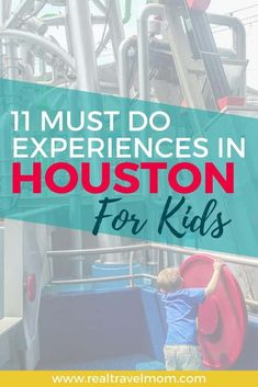 Eleven must do experience in Houston for kids! I was blown away by how awesome Houston is with kids. There are so many fun places to go and activities to do. This is my Houston bucket list for families - tons of special experience to make your vacation sp Traveling With Baby, Travel With Kids, Family Travel, Us Travel Destinations, Family Vacation Destinations, Vacation Ideas, Vacation Spots, Denver Travel, Texas Travel