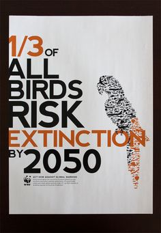 So sad.  WWF Climate Change Publication. This is a warning... will we humans change our ways in time to prevent their extinction... and, ultimately, our own?