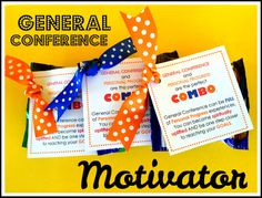 YW PP: General Conference Motivator and idea for value project during conference:)