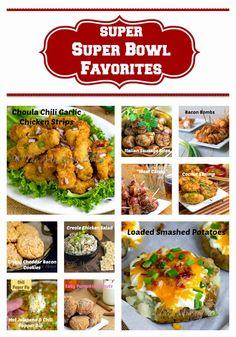 Super Bowl Favorite Recipes #SuperBowl