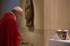 By Junno Arocho Esteves Catholic News Service VATICAN CITY (CNS) –- To kill in the name of God is satanic, Pope Francis said at a special requiem Mass for a French priest assassinated by youths cla…