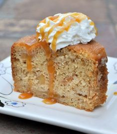 Maple Apple Ginger Cake ~ Just made this for my husband and it is delicious!