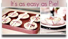 Petite Pie Party Favors