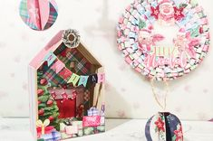 Ideas Scrapbooking, Gingerbread, Diy, Holiday Decor, Home Decor, Paper Christmas Decorations, Card Tutorials, Easy Christmas Ornaments, Greeting Cards