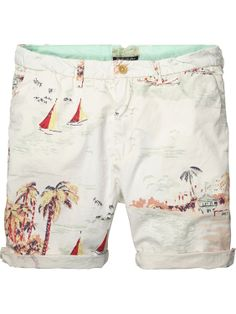poplin chino shorts - Scotch & Soda