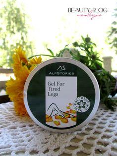 Mandaryna's Beauty Blog: AlpStories Gel For Tired Legs