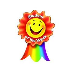 Student of the Week Medal - Manners Activities, Physical Activities For Kids, Reward Stickers, Teacher Stickers, Exam Wishes Good Luck, English Classroom Posters, Emotion Words, Student Of The Week, Kids Awards