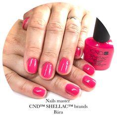 Shellac Nails, Nail Polish, Pink, Nail Polishes, Polish, Pink Hair, Roses, Manicure, Shellac