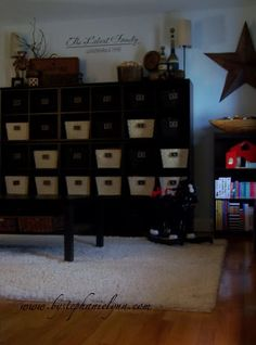 Very cool! I was looking up ideas for toy storage and came across one of my vinyls I sold.