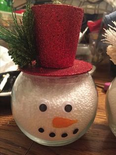 christmashomemadeideas remajacantik decorations christmas awesome snowman budget fish bowl 22 on 15 a 22 Awesome Christmas Decorations on a Budget Fish Bowl Snowman 15 22 Awesome Christmas DecorationYou can find Fish bowl snowman and more on our website Christmas Candy Cane Decorations, Ribbon On Christmas Tree, Decorating With Christmas Lights, Glass Christmas Tree Ornaments, Christmas Centerpieces, Christmas Snowman, Christmas Diy, Christmas Wreaths, Easy Homemade Christmas Gifts