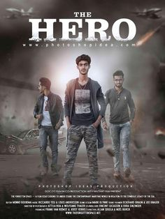 Photoshop Ideas - The Hero Action Movie Poster Tutorial - Photoshop Manipulation - Movies - Buvizyon Hd Background Download, Blur Photo Background, Background Images For Editing, Stock Background, Picsart Background, Action Movie Poster, Action Movies, Movie Posters, Photoshop Me