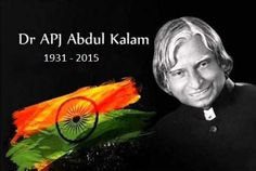 Former #President, the great #scientist, the #MissileMan Dr. A P J Abdul Kalam…