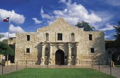 """The Alamo."""" They come to see the old mission where a small band of Texans held out for 13 days against the army of General Antonio López de Santa Anna."""