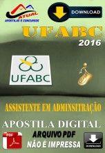 Apostila Digital Concurso UFABC Assistente em Administracao 2016