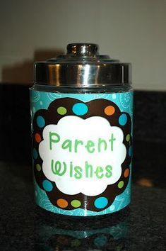 Parent Wish Jar: At Back to School night, leave out Wish Slips and have parents jot down their hopes for their child for the coming school year. Very telling, good for goal setting, progress tracking. Back To School Night, 1st Day Of School, Beginning Of School, School Fun, School Starts, High School, Future School, Welcome Back To School, Starting School