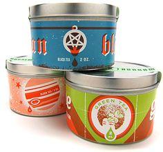 great tea tins