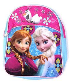 Look what I found on #zulily! Frozen Half Moon Mini Backpack by Frozen #zulilyfinds $9.99, regular 14.00