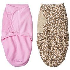 Summer Infant Brown SM® 2 Pack Girl Cheetah - M : Target ($22) via Polyvore