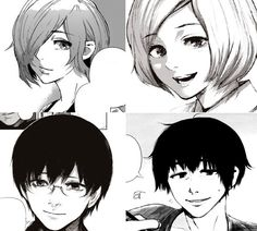tokyo ghoul, touken, and tokyo ghoul re
