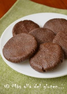 Red fruits and chocolate biscuits - HQ Recipes Clean Recipes, Raw Food Recipes, Sweet Recipes, Cooking Recipes, Keto Recipes, Gluten Free Flour, Vegan Gluten Free, Vegan Dishes, Healthy Desserts