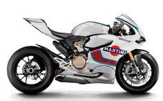Ducati 1199 Panigale Martini Racing