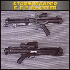 E-11/Sterling L2-A3 Star Wars Stormtrooper Blaster Rifle Prop Replica