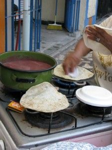 BALEADAS! I miss them.